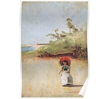 Charles Conder  - All on a summer s day 1888 Rustic  Australian  Provance  Poster