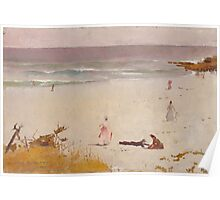 Charles Conder  - Bronte Beach 1888 Poster
