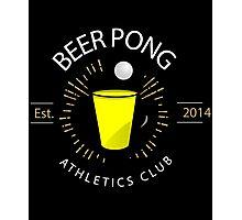 Beer Pong Athletics Club T Shirt Photographic Print