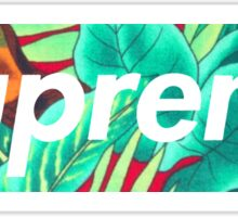 Supreme Jungle Sticker