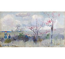 Charles Conder  - Herrick s Blossoms , Rustic  Australian  Provance  Photographic Print