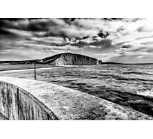 West Bay to Burton Bradstock Photographic Print