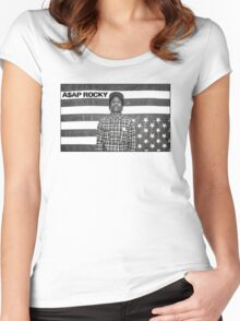 A$AP ROCKY Women's Fitted Scoop T-Shirt