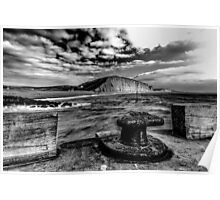 Harbour Wall at West Bay Poster