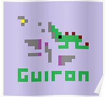Guiron Pixel Poster