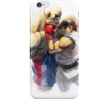 Ryu vs Sagat iPhone Case/Skin