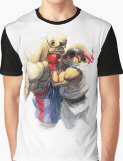 Ryu vs Sagat Graphic T-Shirt