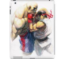 Ryu vs Sagat iPad Case/Skin