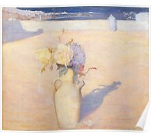 Charles Conder  - The hot sands, Mustapha, Algiers 1891 Poster