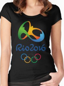 Rio 2016  Women's Fitted Scoop T-Shirt