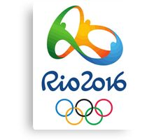 Rio 2016  Canvas Print