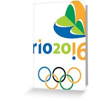 Rio 2016 Greeting Card
