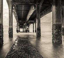 A long Walk under a short Pier by Marcus Walters