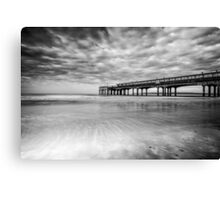 Big Sky at The Pier  Canvas Print