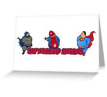 Super Hero - Supersize Greeting Card
