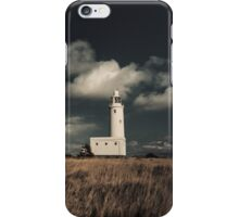 Lighthouse at Hurst Castle iPhone Case/Skin
