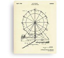 Portable Ferris Wheel-1952 Canvas Print