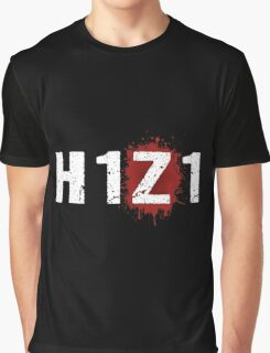 H1Z1: Bloody Z Title - White Ink Graphic T-Shirt