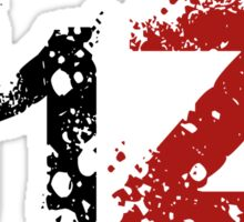 H1Z1: Title - Black Ink Sticker