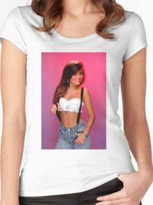 Kelly Kapowski Women's Fitted Scoop T-Shirt