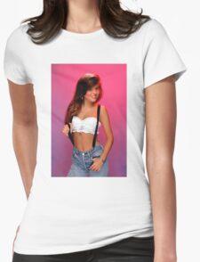 Kelly Kapowski Womens Fitted T-Shirt