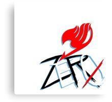 Fairy Tail - Zero Canvas Print