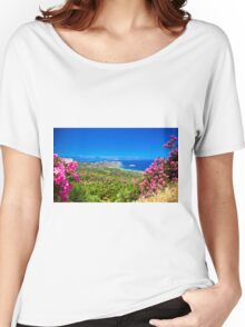 Landscape in Crete Women's Relaxed Fit T-Shirt