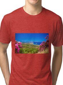 Landscape in Crete Tri-blend T-Shirt