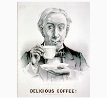 Delicious Coffee! - 1881 - Currier & Ives Unisex T-Shirt