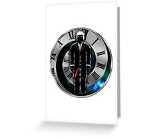 Doctor Who - 12th Doctor - Peter Capaldi Greeting Card