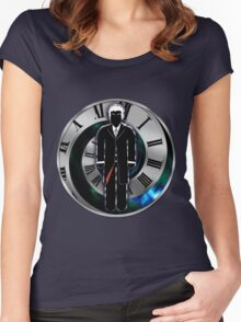 Doctor Who - 12th Doctor - Peter Capaldi Women's Fitted Scoop T-Shirt