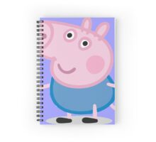 George Pig Spiral Notebook