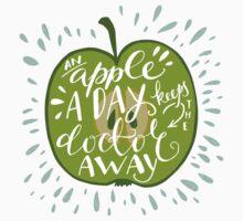 an apple a day One Piece - Long Sleeve