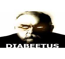Diabeetus  Photographic Print