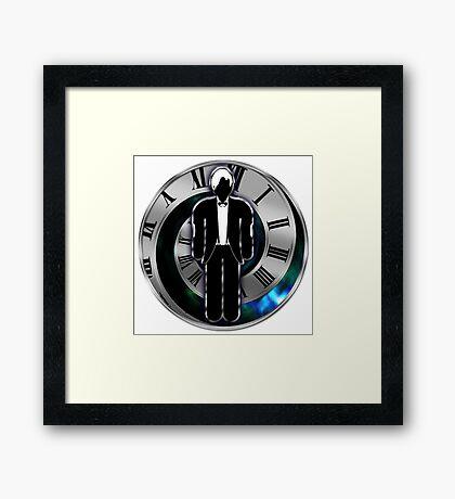 Doctor Who - 11th Doctor - Matt Smith Framed Print