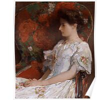 Childe Hassam - The Victorian Chair 1906 Poster