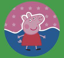 Peppa Pig Stamp Baby Tee
