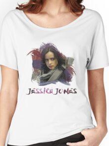 Jessica Jones - Brush Women's Relaxed Fit T-Shirt