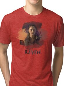 Raven - The 100 -  Brush Tri-blend T-Shirt