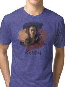 Raven - The 100 -  Brush Tri-blend T-Shirt