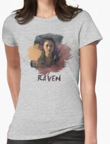 Raven - The 100 -  Brush Womens Fitted T-Shirt