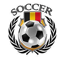Belgium Soccer 2016 Fan Gear Photographic Print