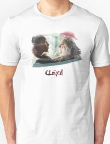 Clexa - The 100 - brush T-Shirt