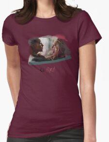 Clexa - The 100 - brush Womens Fitted T-Shirt