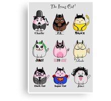The Icons Cat vol.1 Canvas Print