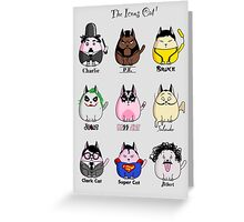 The Icons Cat vol.1 Greeting Card