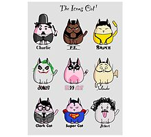 The Icons Cat vol.1 Photographic Print