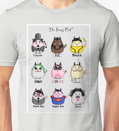 The Icons Cat vol.1 Unisex T-Shirt