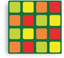 Color - BitGen Remix Canvas Print