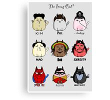 The Icons Cat vol.2 Canvas Print